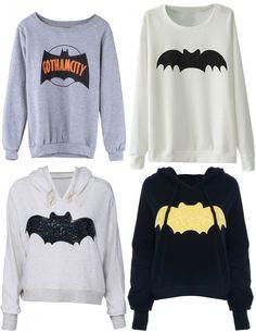 Batman sweatshirts and hoodies