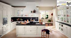 küche kochinsel landhausstil weiß oberlichter   Küche   Pinterest ...