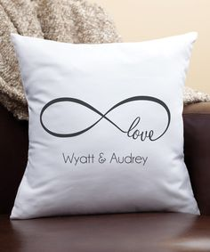 Another great find on #zulily! Our Love Personalized Throw Pillow by Personalized Planet #zulilyfinds