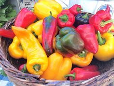 Stop by St. George Greenmarket on #StatenIsland each Saturday to see what produce, like these gorgeous #peppers, they have in stock! Open 8AM-2PM #farmersmarketnyc