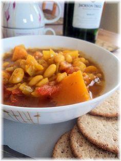 Love Soup(Beans, Tomatoes, butternut squash....)  Vegan Recipes