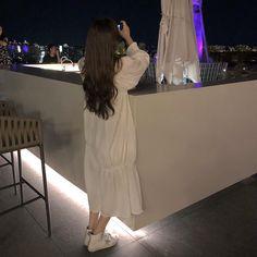 """오어데이즈 on Instagram: """"꼬맹이 🌝"""" White Casual, Coat, Jackets, Photography, Fashion, Down Jackets, Moda, Sewing Coat, Photograph"""