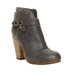 ARIEEL GREY SUEDE women's bootie mid casual - Steve Madden - I LIKE THE ONES IN RED!!!  :)
