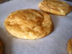 Snickerdoodles - 0.5 t baking soda, baked for 12 min, otherwise followed recipe