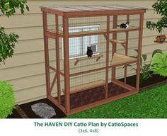 Inspiring cat enclosure photos by CatioSpaces.com. Guaranteed to create a positive