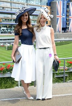 Five days of the best of British millinery at the Royal Ascot races Ascot Outfits, Derby Outfits, Outfits With Hats, Horse Race Outfit, Races Outfit, Tea Party Attire, Tea Party Outfits, Race Day Fashion, Races Fashion