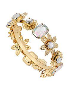 Emulational Diamond Floral Bracelet Ювелирные Украшения 739c4d20cd