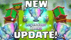 Clash Royale LEGENDARY ARENA (3000+ Trophies) New UPDATE + Card Balance ...