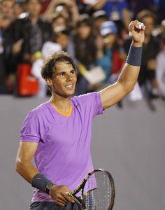 Rafaholics - Rafael Nadal Fan Site: Vina Del Mar: Semifinal Photos