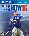 MLB: The Show 16 (Sony PlayStation 4 2016)