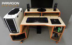 paragon gaming desk by tom balko at coroflotcom