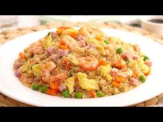 Quinoa al estilo Arroz Frito 3 Delicias muy fácil y súper deliciosa - YouTube Arroz Frito, Fried Rice, Risotto, Fries, Ethnic Recipes, Youtube, Food, Salads, Cooking Recipes