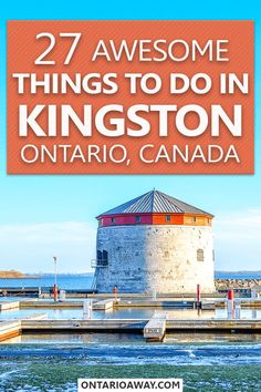 There are lots of great things to do in Kingston, Ontario Canada. Read this post written by a local to find out which attractions you shouldn't miss when visiting the former Canadian capital! Kingston Ontario, Kingston Canada, Oakville Ontario, Ontario Travel, Visit Canada, Koh Tao, Canada Travel, Summer Activities, Travel Guides