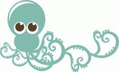 Silhouette Design Store - View Design #42307: octopus
