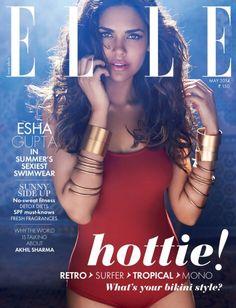 Esha Gupta - Elle India, May 2014
