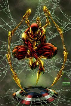 Iron Spider - colors by ZethKeeper on DeviantArt