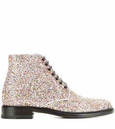 Lolita 20 glitter boots | Saint Laurent