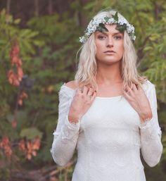 Brautkleid der Woche ~ Bohemian Style ~ Daughters Of Simone | www.brautsalat.de