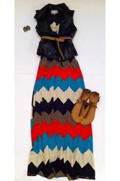 Maxi dresses are great for cruise boats! They're lightweight, don't take up much space and are SUPER CUTE!