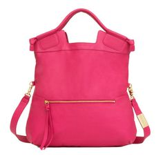 Mid City Tote -Rose -OS