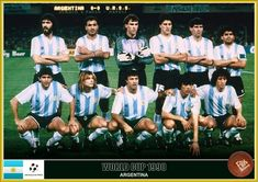 Fan pictures - 1990 FIFA World Cup Italy. Argentina Football Team, Argentina Team, Argentina National Team, World Cup Teams, Soccer World, Fifa World Cup, Retro Pictures, Retro Pics, Diego Armando