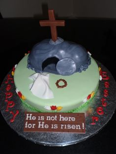 Easter Cake. For He is risen!  Awesome Cake!!!!