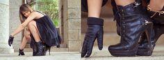 Jessica Williams - One Story Photography Jessica Williams, First Story, Biker, Boots, Photography, Fashion, Shearling Boots, Fotografie, Moda