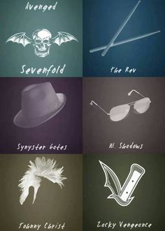We Are Avenged sevenfold! Love Band, Great Bands, Avenged Sevenfold Wallpapers, City Of Evil, Matt Shadows, Jimmy The Rev Sullivan, Zacky Vengeance, Synyster Gates, Escape The Fate