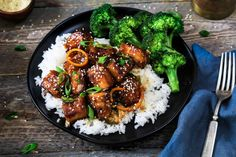 This General Tso's Tofu recipe is from Chloe Coscarelli's new cookbook Chloe Flavor. It's crispy, spicy, sticky-sweet and full of umami flavor.