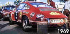 Safari 1969 - Sobiesław Zasada (Porsche 911)