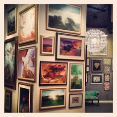 Art gallery trip to Fine Framing and Art