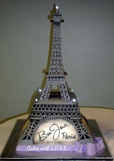 paris cakes | Eiffel Tower Cake :)