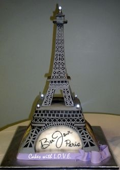 paris cakes | Eiffel Tower Cake :)