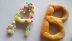 Alphabet en pâte à sel : un exercice ludique et pédagogique - Un jour un jeu
