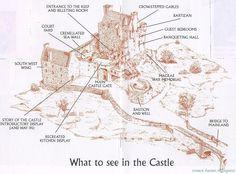 castle medieval layout donan eilean castles floor scottish plan scotland middle ages england map plans diagram village photobucket ancient medevil