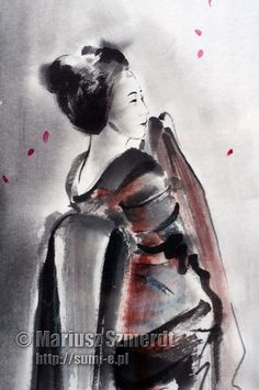 Geisha creations geisha doll japanese kimono summer by SamuraiArt, $250.00
