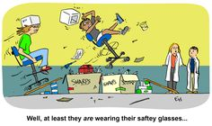 Biology Cartoons and biology teaching from Ed Himelblau, Biology Professor at Cal Poly San Luis Obispo Biology Classroom, Bart Simpson, At Least, Safety, Science, Teaching, Cartoon, Activities, Humor