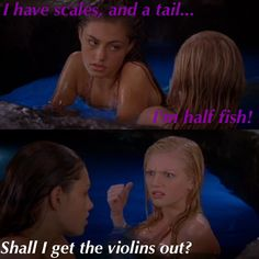 I loved Rikki she was hysterical H2o Mermaids, Mermaids And Mermen, Movies Showing, Movies And Tv Shows, Rikki H2o, Water Quotes, Mermaid Tails, Book Memes, Best Tv