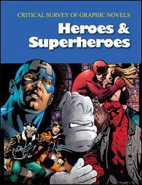 The Hardcover of the Critical Survey of Graphic Novels: Heroes & Superheroes: Print Purchase Includes Free Online Access by Salem Press at Barnes & New Books, Books To Read, Green Library, Buffy The Vampire Slayer, Books Online, Thor, Literature, The Incredibles, Graphic Novels