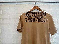 AIDS Tshirt + Maison Martin Margiela