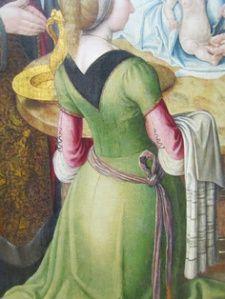 "( detail) ""The Circumcision"" Master of Saint-Severin Louvre. ca. 1490 The Louvre, Paris"