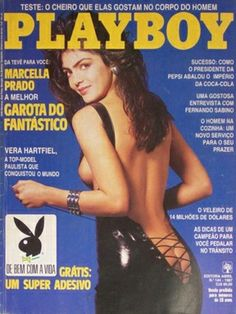 Playboy Brazil July 1987 Cover featured by Marcella Prado