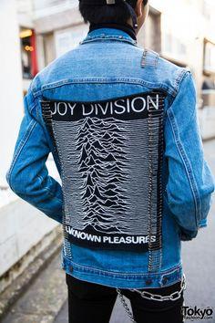 H&M Denim Jacket Back