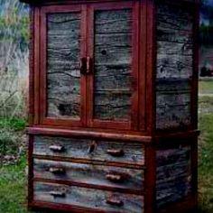 Barn wood dresser!!