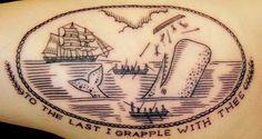 Tattoo by Duke Riley by eastrivertattoo, via Flickr