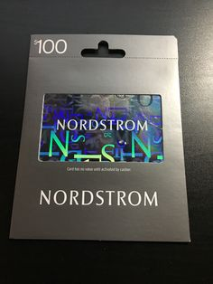 #Coupons #GiftCards Nordstrom Gift Card $100 #Coupons #GiftCards