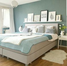 Good Information : Best Bedroom Colors Psychology best bedrooms colors, best bathrooms colors, cozy colors bedroom, best bedroom paint, best master bedroom color Home Bedroom, Awesome Bedrooms, Bedroom Interior, Bedroom Green, Home Decor, Bedroom Furniture, Bedroom Inspirations, Bedroom Colors, Rustic Bedroom