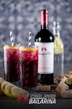 It's National Red Wine Day. So put on your red shoes on and dance with friends. While you're at it, stir up some refreshing fun with our Spanish Sangria Bailarina cocktail with Ménage à Trois California Red Blend. For extra old world flair, pair it with authentic Spanish Tapas. Take your taste buds on a deliciously exotic adventure at MenageaTroisWines.com.