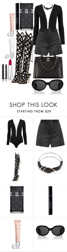 """Untitled #731"" by veronice-lopez ❤ liked on Polyvore featuring T By Alexander Wang, The Row, Sophia Webster, Chanel, Alexander Wang, Christian Dior, Acne Studios and Givenchy"