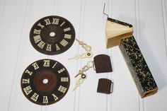Vintage Cuckoo Clock Parts